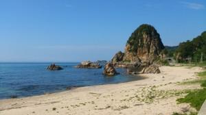 新潟県村上市山北の岩牡蠣