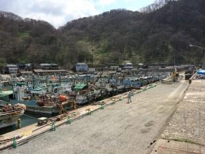 日本海寝屋漁港漁船