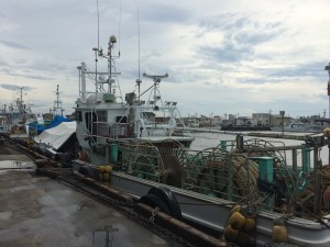 金沢港漁船