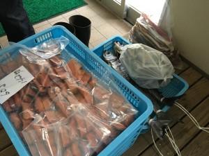 塩引き鮭学校給食