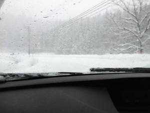 阿賀野市大雪