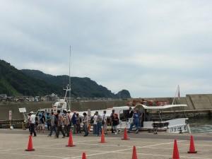 新潟笹川流れ遊覧船
