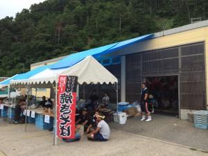 漁師料理販売