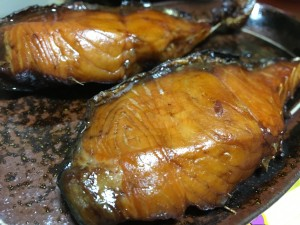 鮭醤油干し