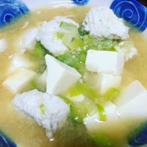 カナガシラ味噌汁