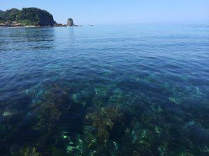村上市美しい海