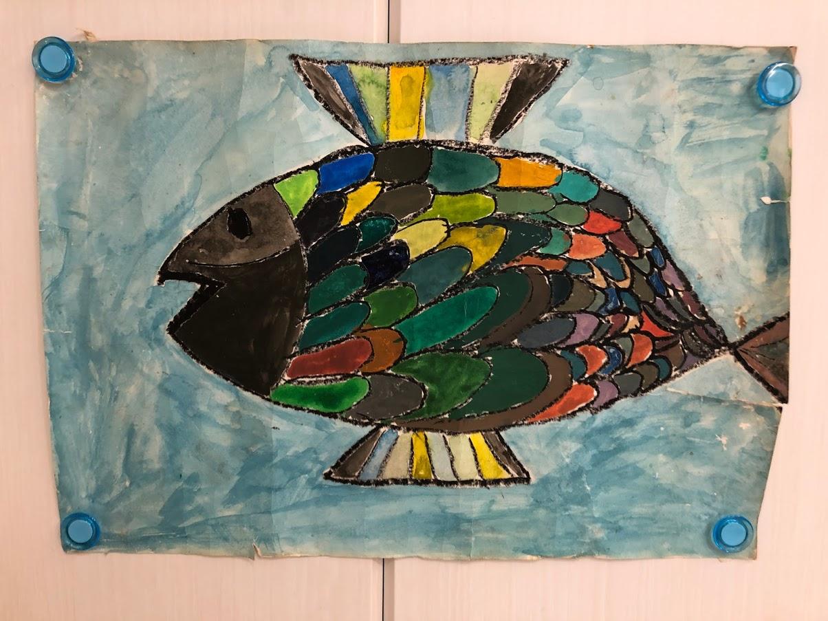 NHK新潟の児童画廊で紹介された過去に描いた絵